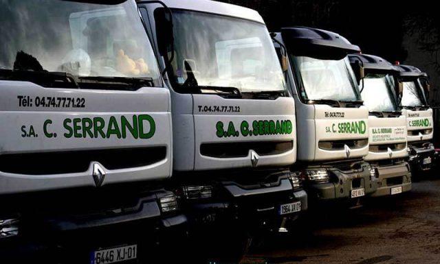 Serrand - Une flotte de véhicules pour la collecte des déchets
