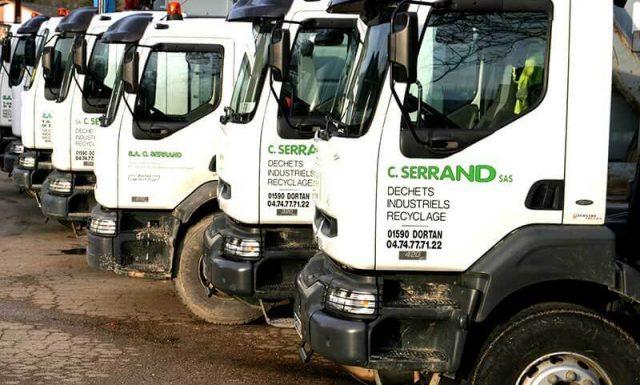 La société SERRAND fait appel à du personnel qualifié et expérimenté pour la conduite de sa flotte de véhicules