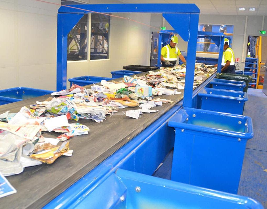 Beaucoup d'évolutions ont été faites en matière de tri des déchets