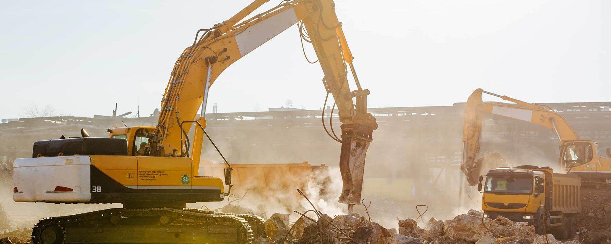 Nous disposons d'engins adaptés aux travaux de démolition de bâtiment et d'un personnel qualifié.