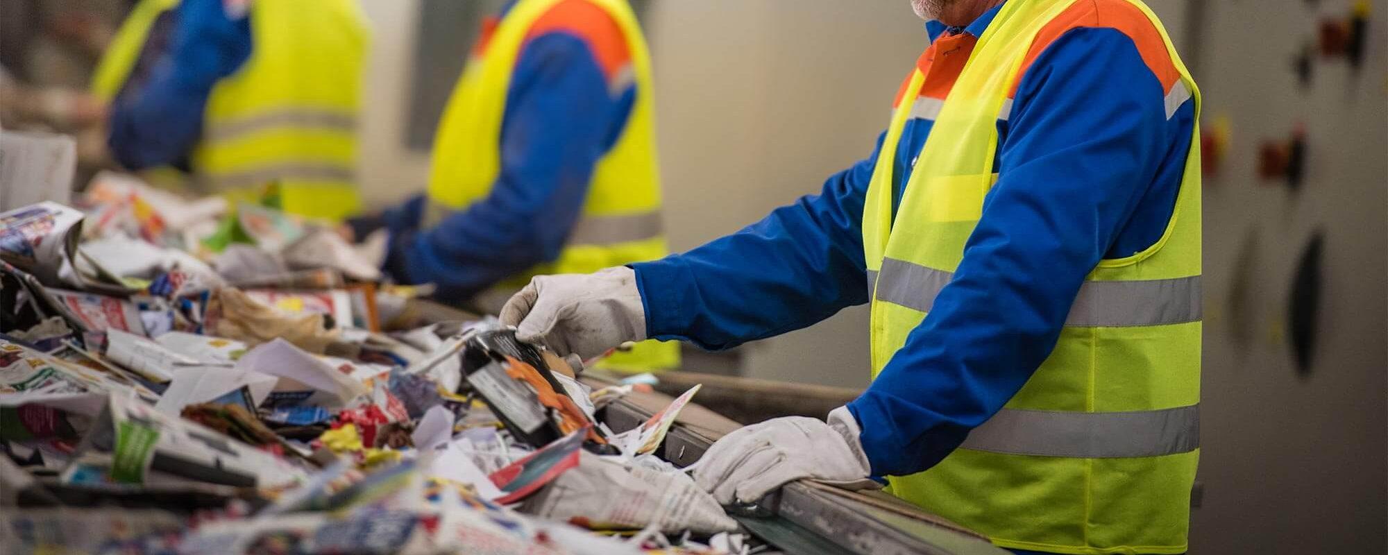 Que deviennent nos déchets une fois collectés ?